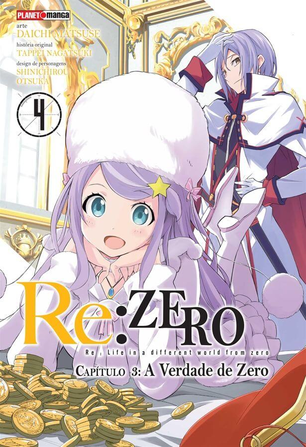 Re:Zero - Capítulo 03 - A Verdade de Zero - Volume 04