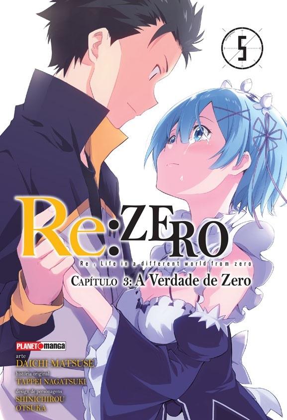 Re:Zero - Capítulo 03 - A Verdade de Zero - Volume 05