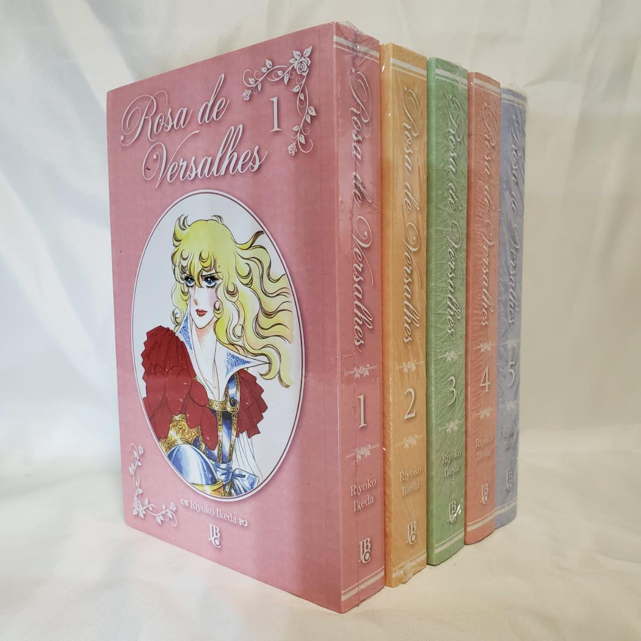 Rosa de Versalhes - 1 ao 5 - Coleção Completa - Pack