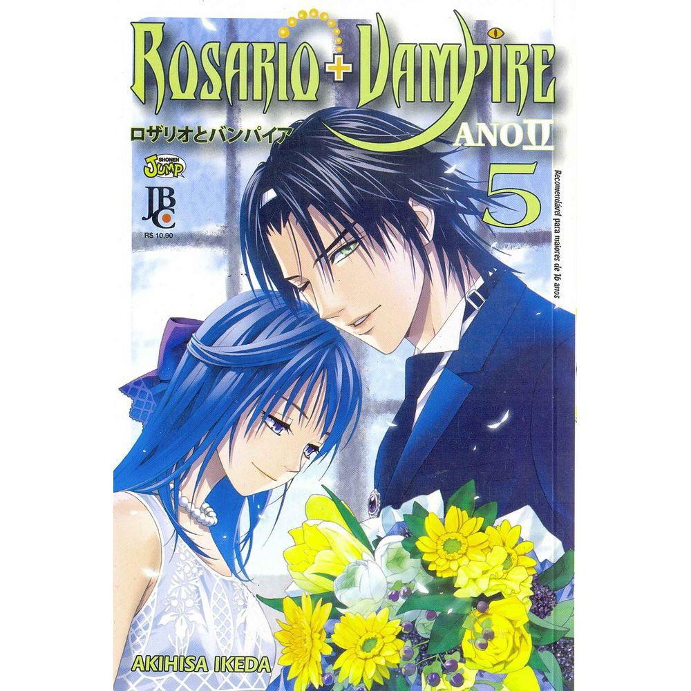 Rosario+Vampire Ano ll - Volume 05 - Usado