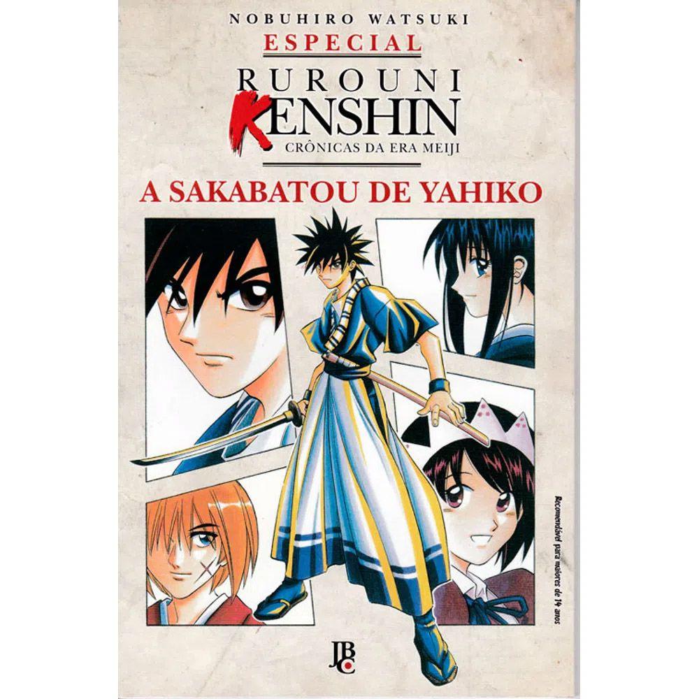 Rurouni Kenshin - A Sakabatou de Yahiko - Volume Único