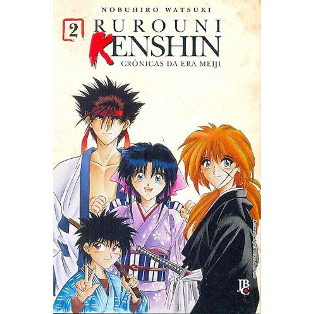 Rurouni Kenshin - Crônicas da Era Meiji - Volume 02