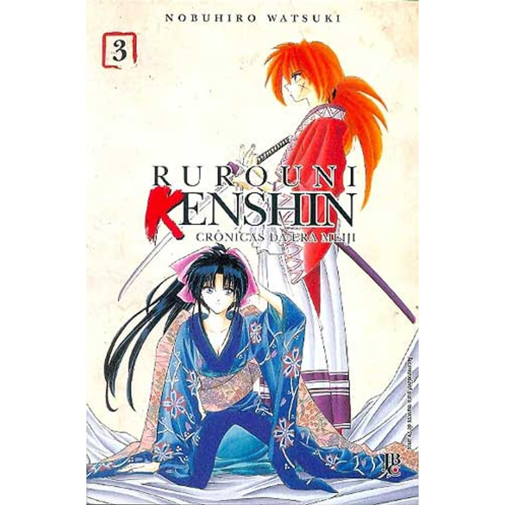 Rurouni Kenshin - Crônicas da Era Meiji - Volume 03