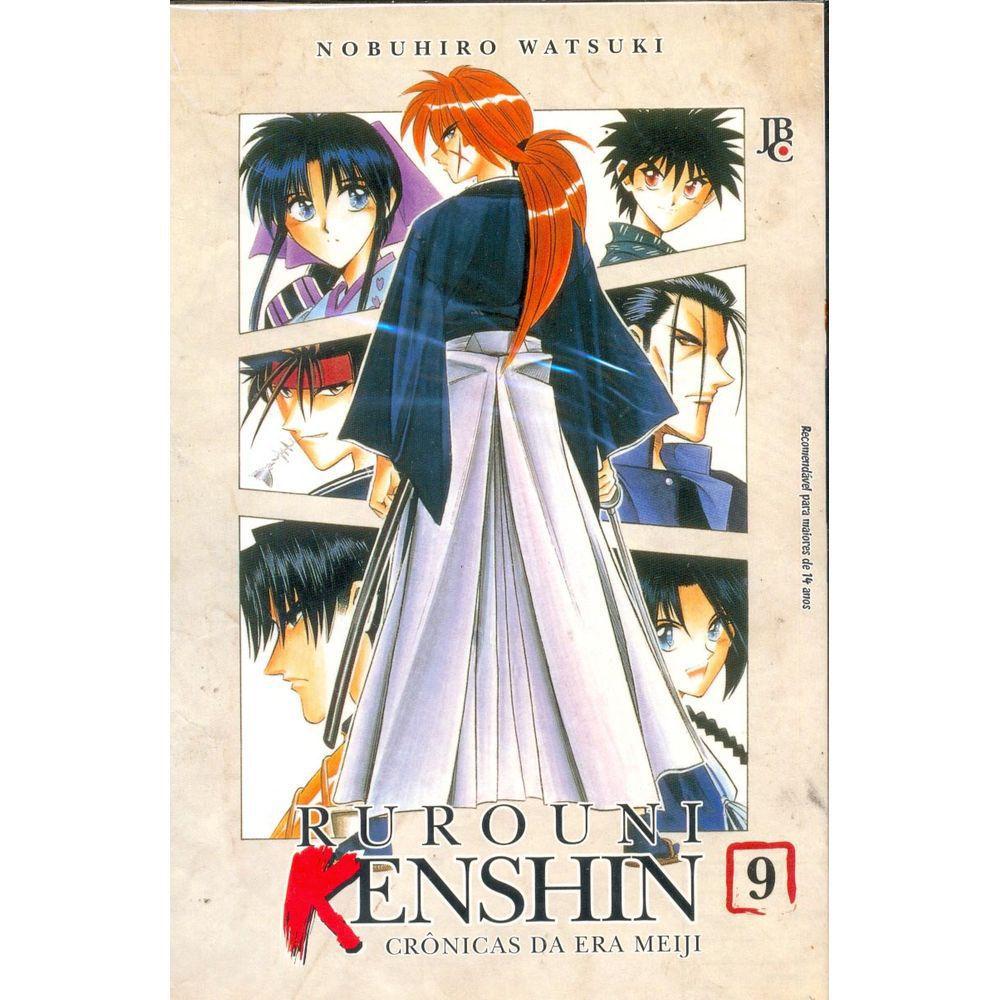 Rurouni Kenshin - Crônicas da Era Meiji - Volume 09 - Usado