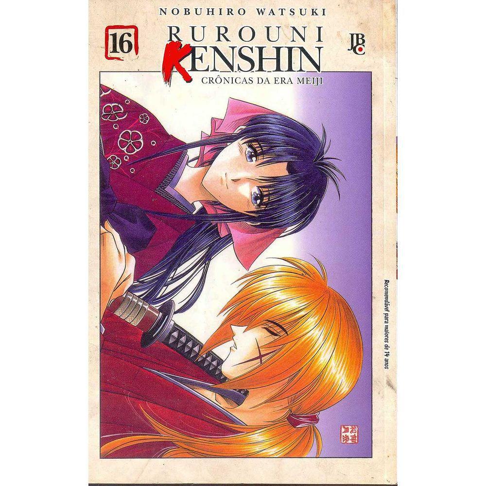 Rurouni Kenshin - Crônicas da Era Meiji - Volume 16 - Usado