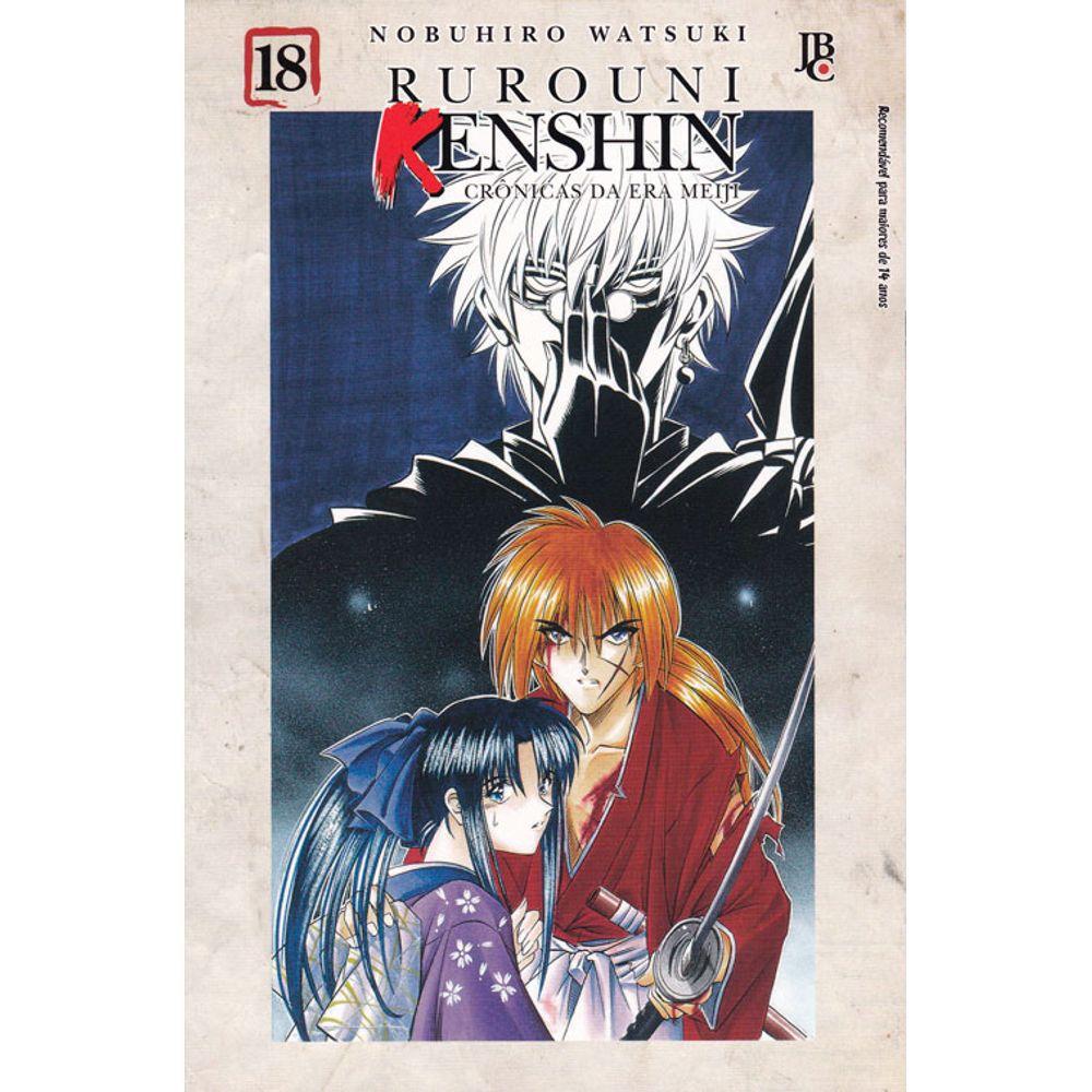 Rurouni Kenshin - Crônicas da Era Meiji - Volume 18