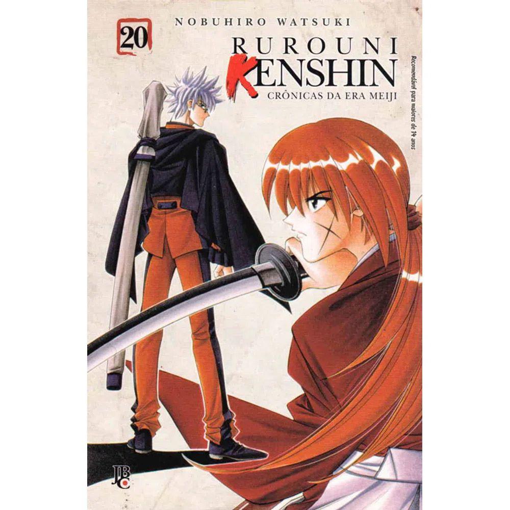 Rurouni Kenshin - Crônicas da Era Meiji - Volume 20 - Usado