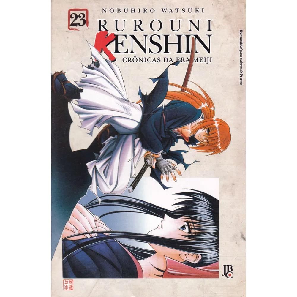 Rurouni Kenshin - Crônicas da Era Meiji - Volume 23 - Usado