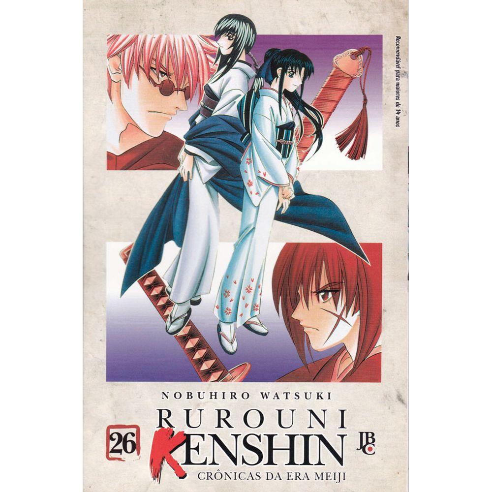 Rurouni Kenshin - Crônicas da Era Meiji - Volume 26