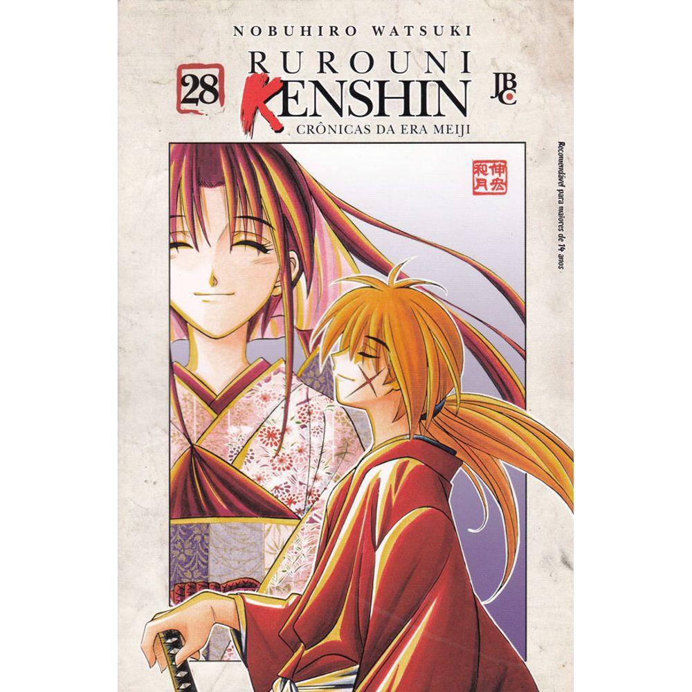 Rurouni Kenshin - Crônicas da Era Meiji - Volume 28