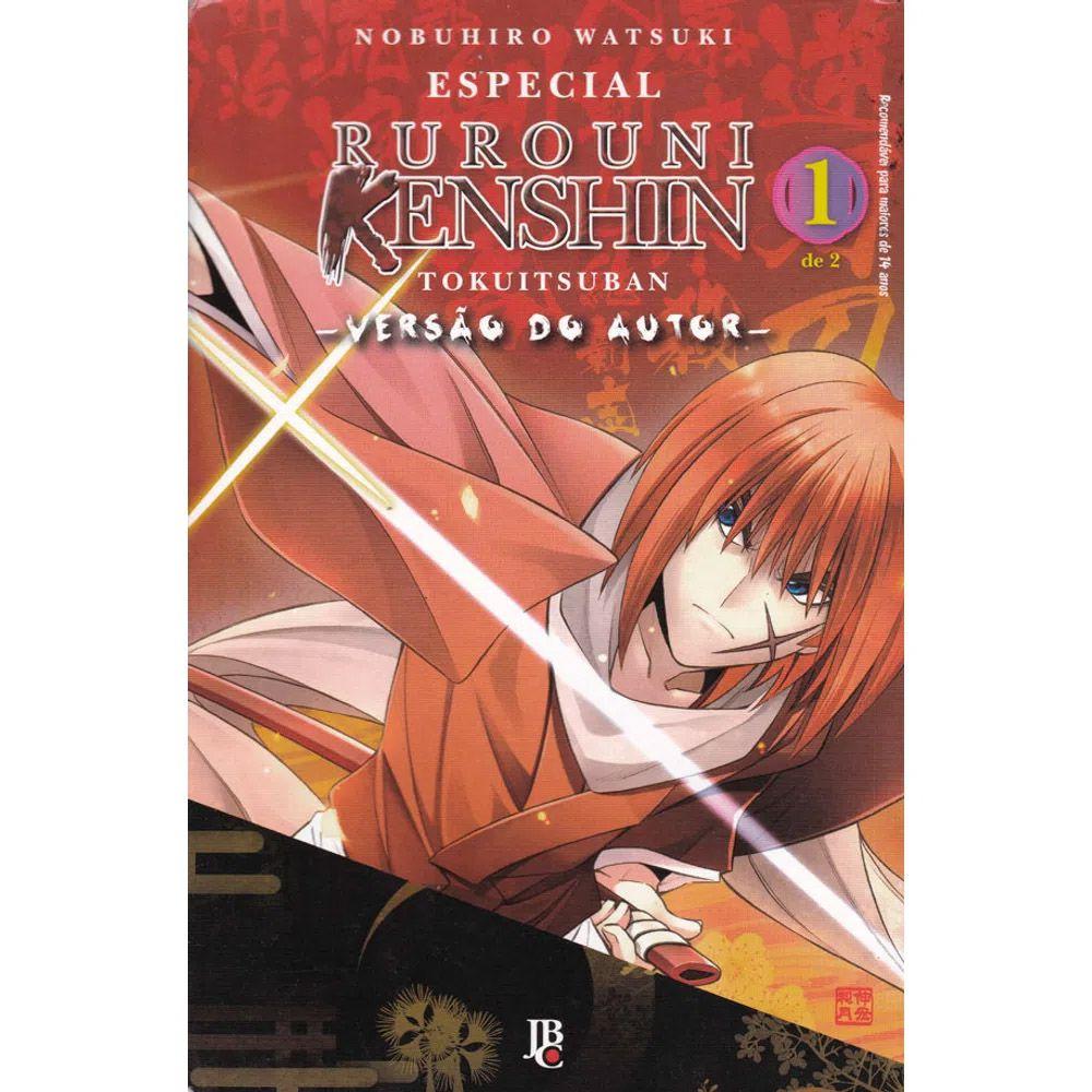 Rurouni Kenshin - Tokuitsuban - Versão do Autor - Volume 01 - Usado