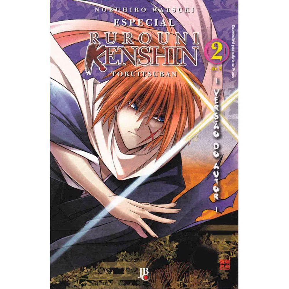 Rurouni Kenshin - Tokuitsuban - Versão do Autor - Volume 02 - Usado