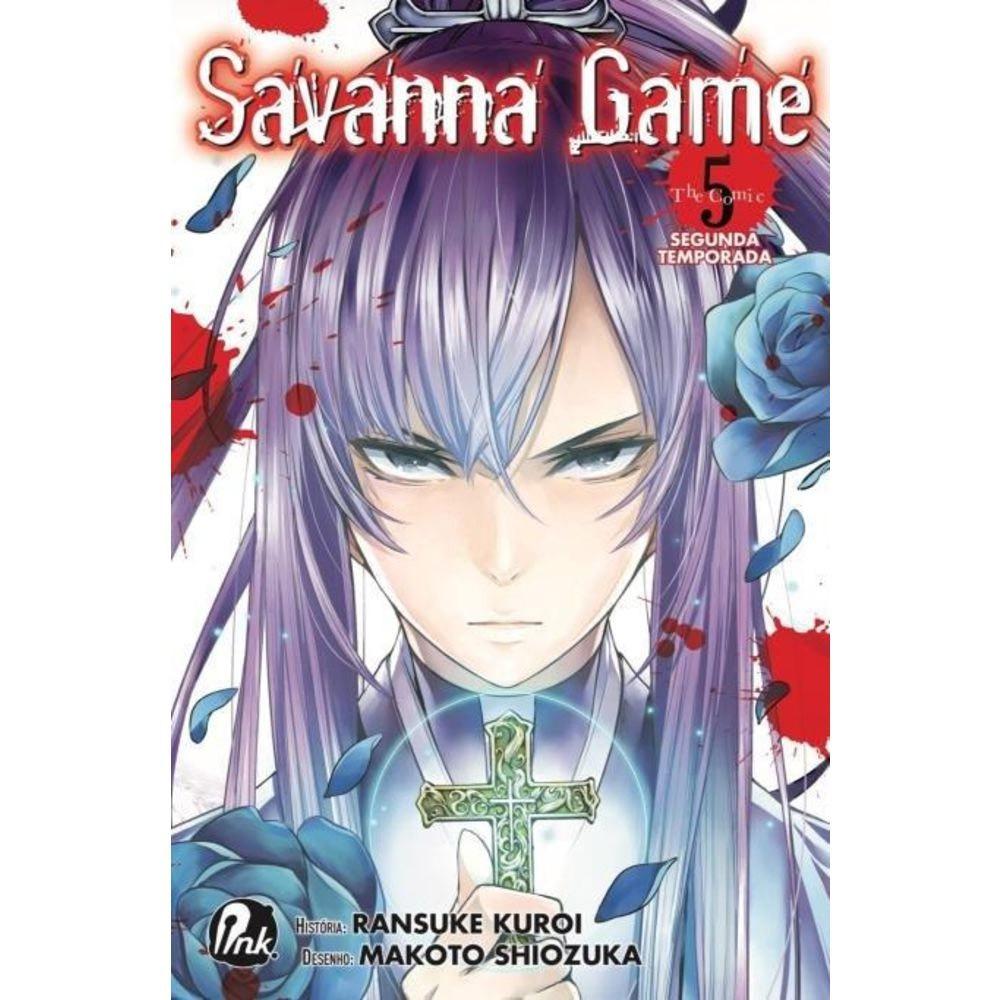 Savanna Game 2ª Temporada - Volume 05 - Usado