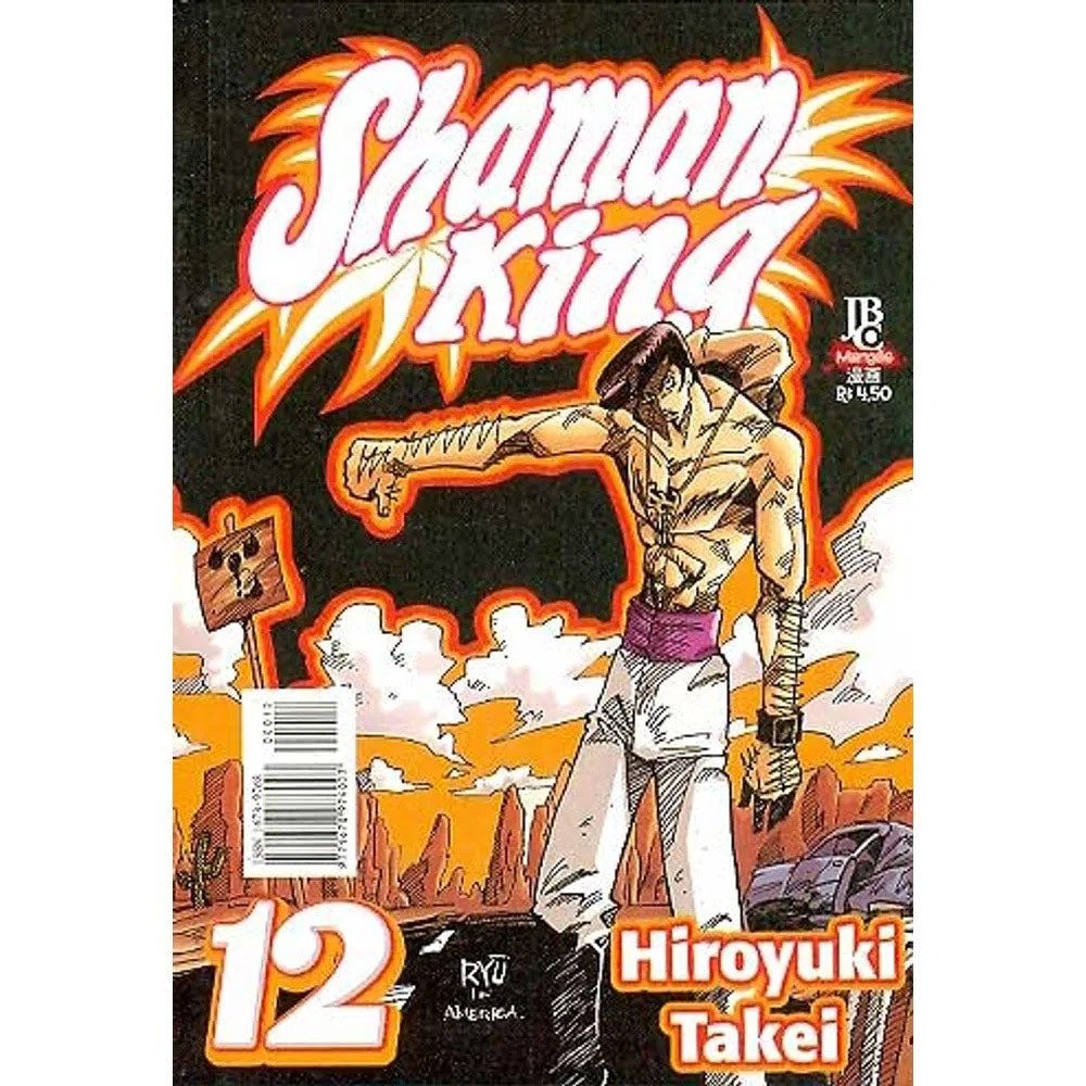 Shaman King - Volume 12 - Usado