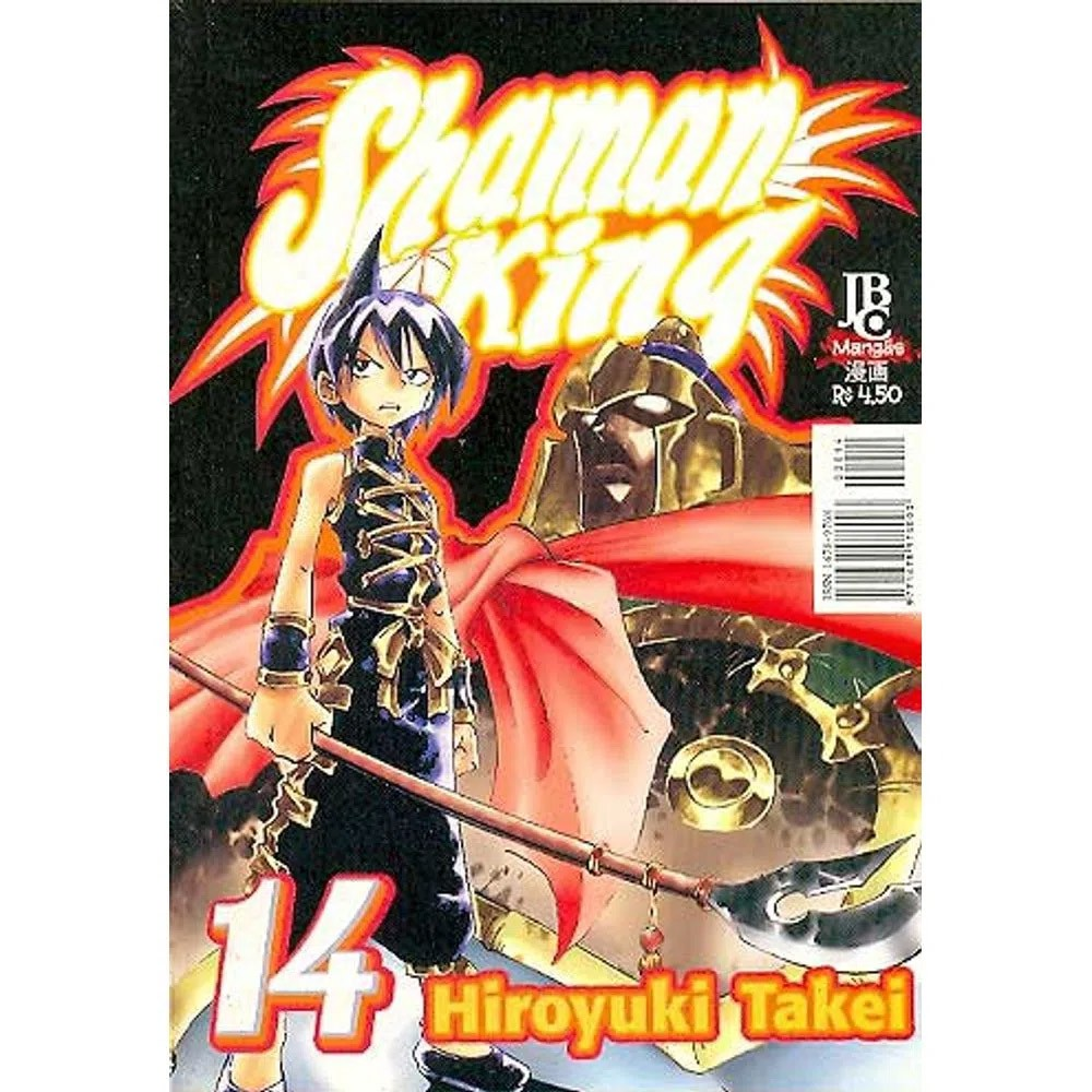 Shaman King - Volume 14 - Usado