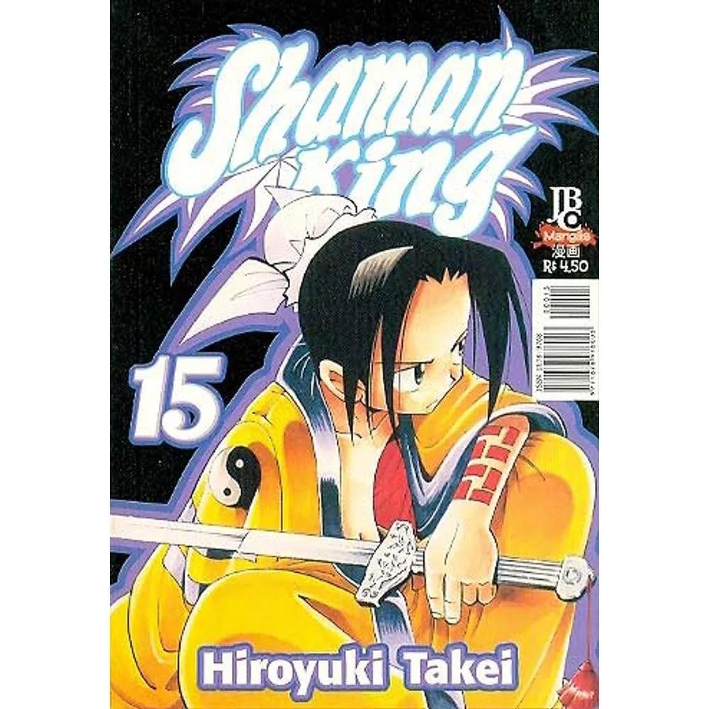 Shaman King - Volume 15 - Usado