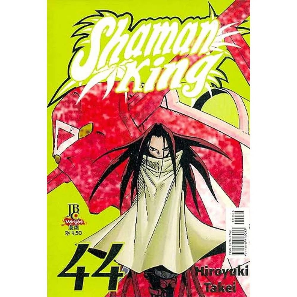 Shaman King - Volume 44 - Usado