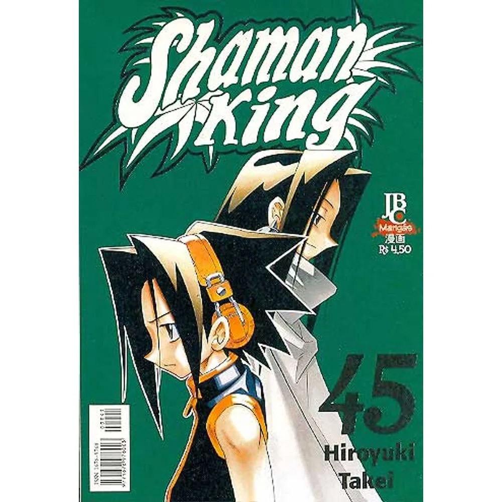 Shaman King - Volume 45 - Usado