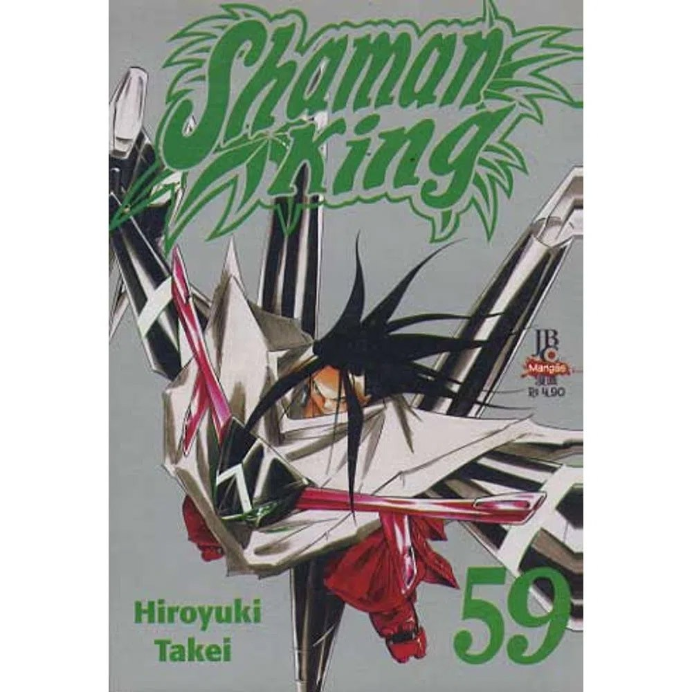Shaman King - Volume 59 - Usado