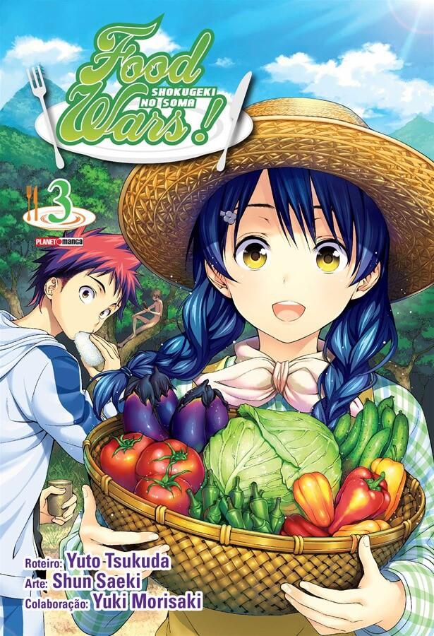 Food Wars! / Shokugeki no Soma - Volume 03