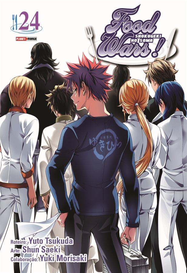 Food Wars! / Shokugeki no Soma - Volume 24