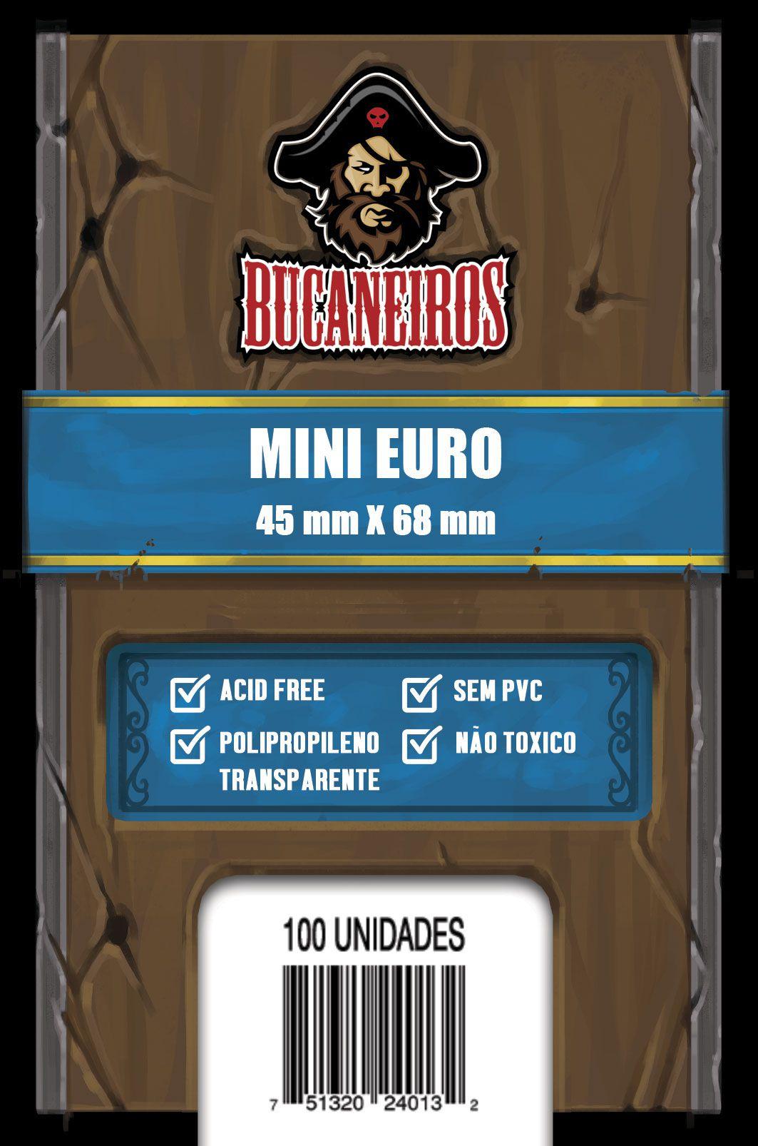 Sleeve Mini Euro - (45x68) - Bucaneiros