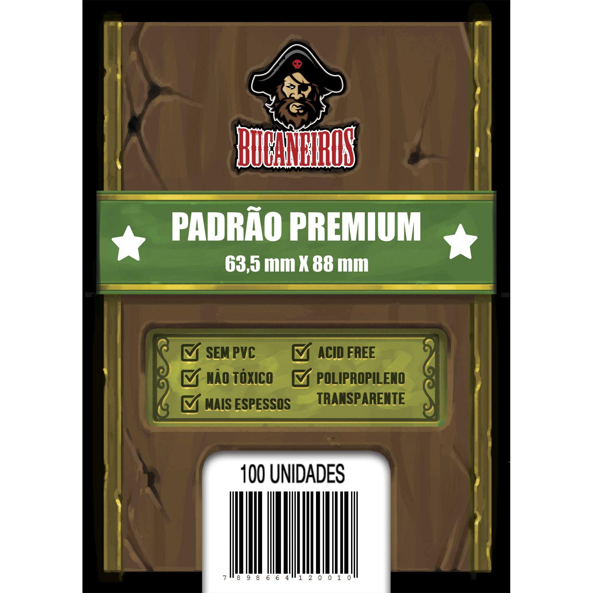 Sleeve Padrão Premium - (63,5x88) - Bucaneiros