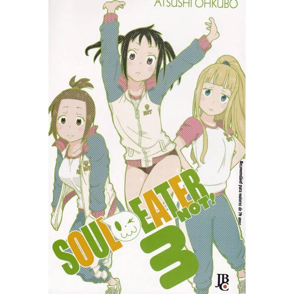 Soul Eater NOT! - Volume 03 - Usado