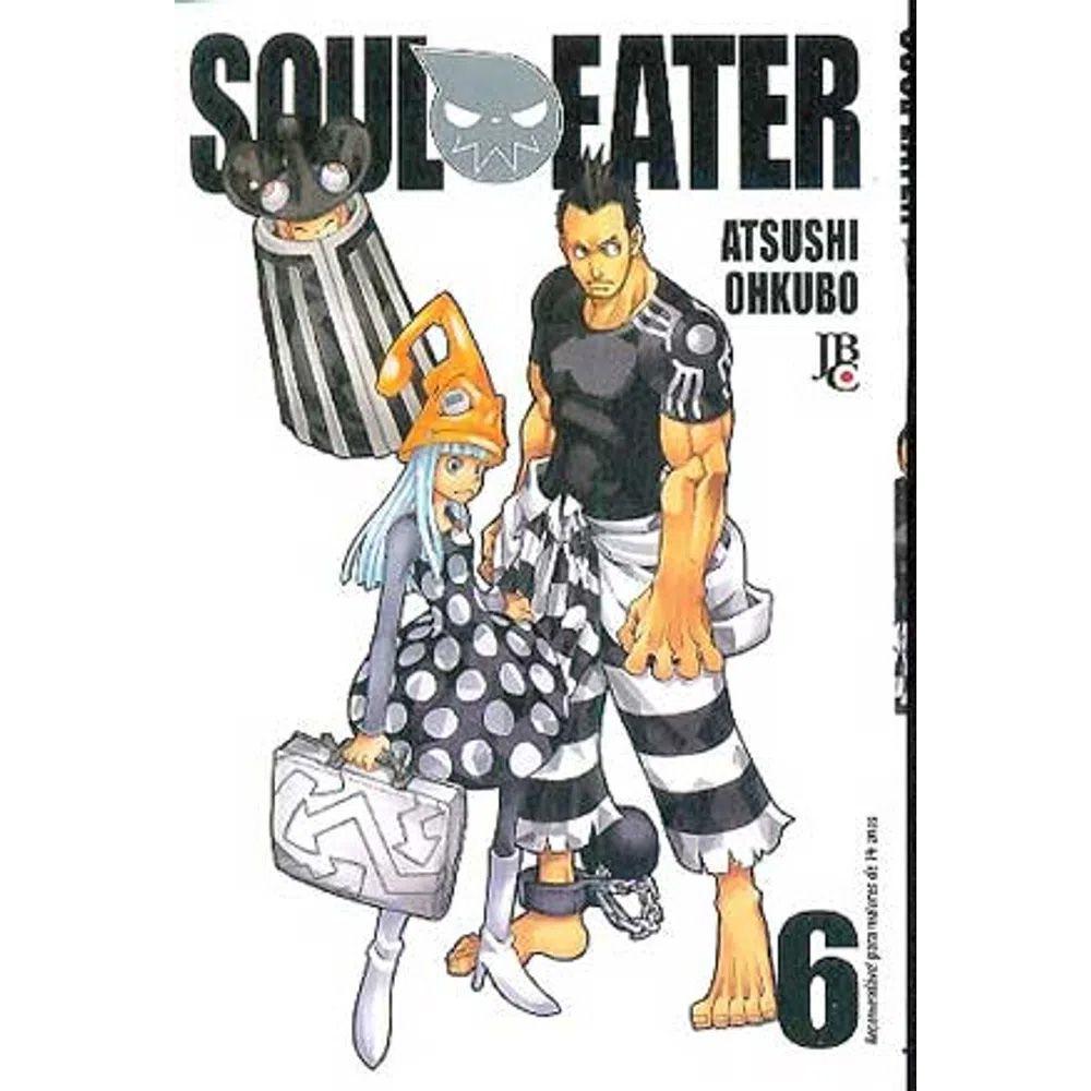 Soul Eater - Volume 06 - Usado