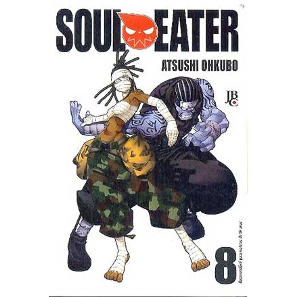 Soul Eater - Volume 08 - Usado