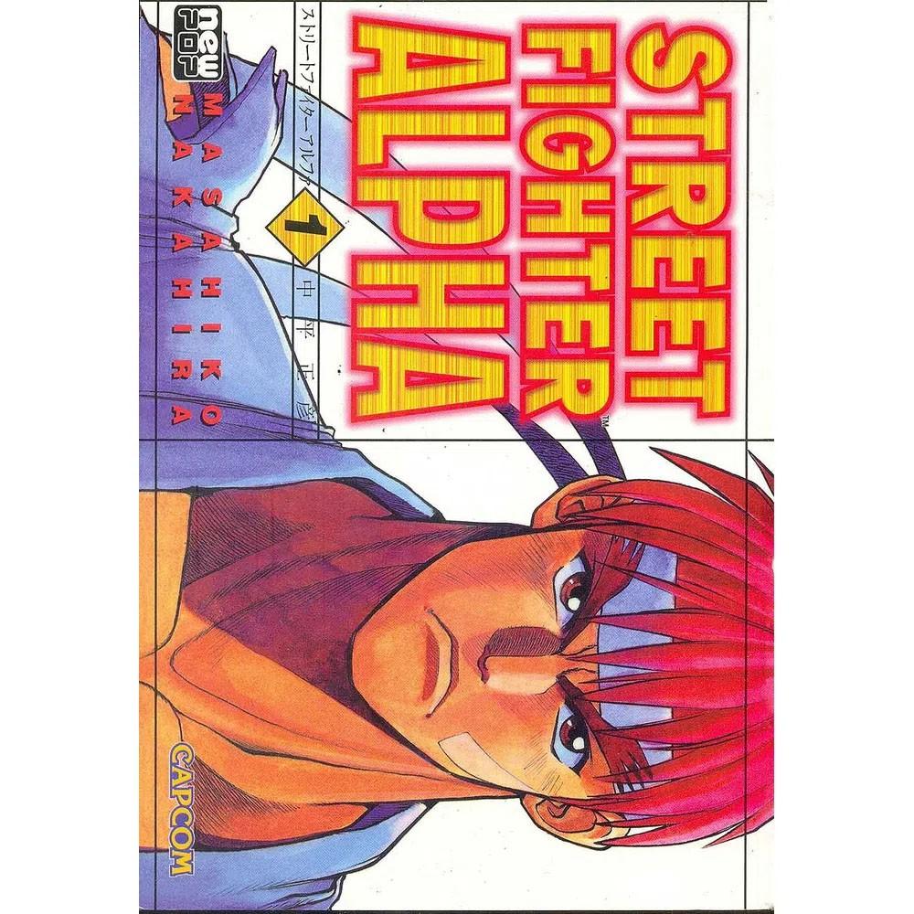 Street Fighter Alpha - Volume 01 - Usado