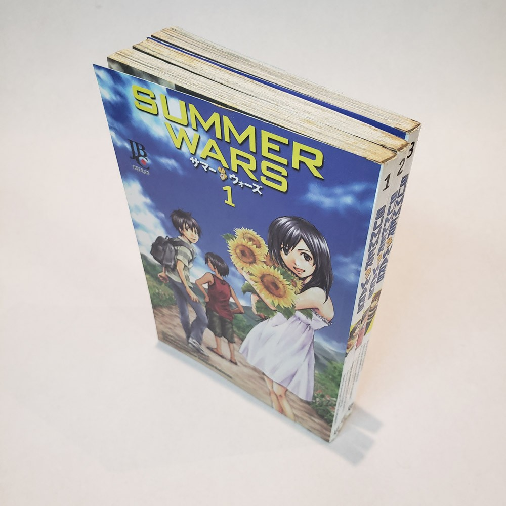 Summer Wars - 1 ao 3 - Coleção Completa - Pack