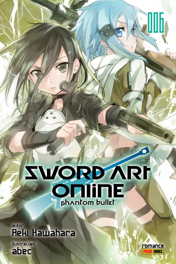Sword Art Online Phantom Bullet - Volume 06 - Novel