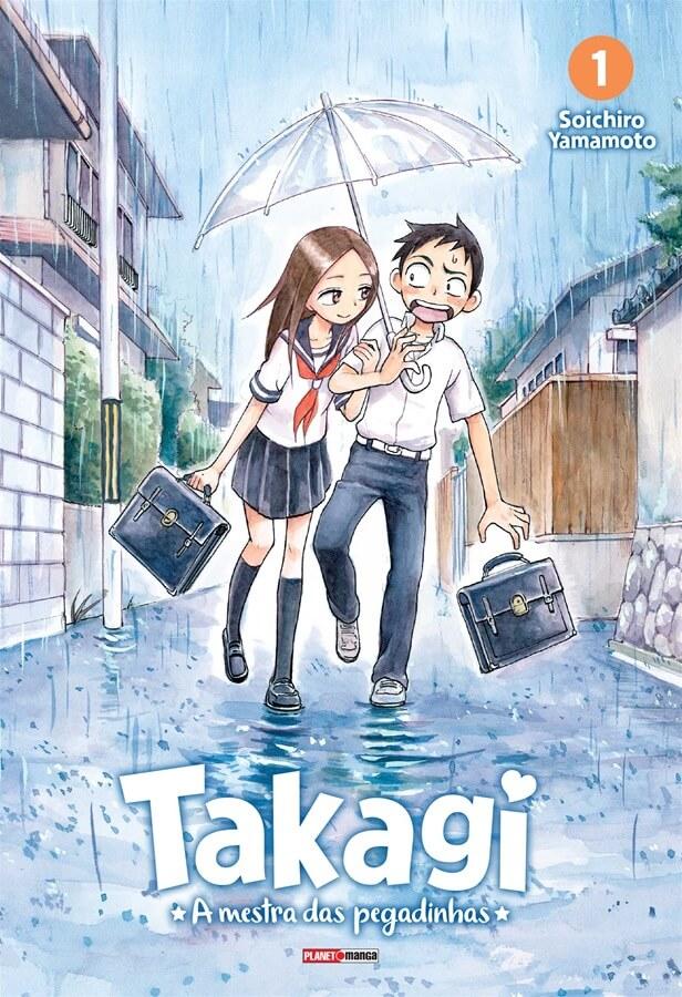 Takagi A Mestra das Pegadinhas - Volume 01