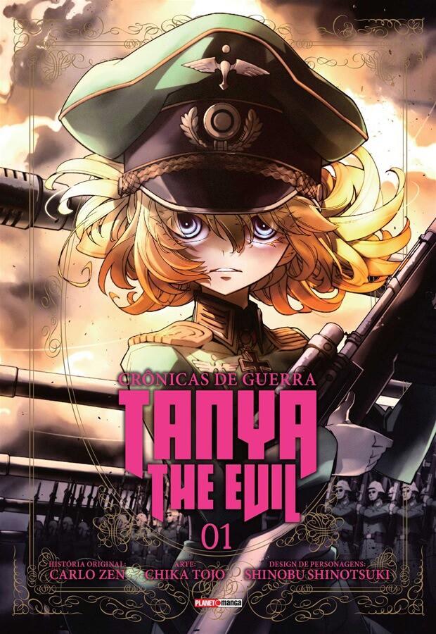 Tanya The Evil Crônicas de Guerra - Volume 01