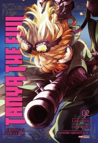 Tanya The Evil Crônicas de Guerra - Volume 02