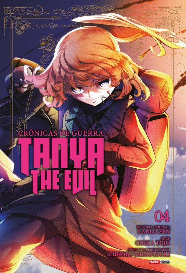 Tanya The Evil Crônicas de Guerra - Volume 04