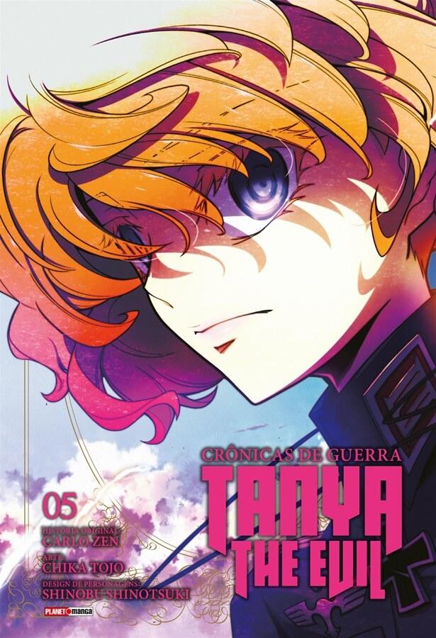 Tanya The Evil Crônicas de Guerra - Volume 05