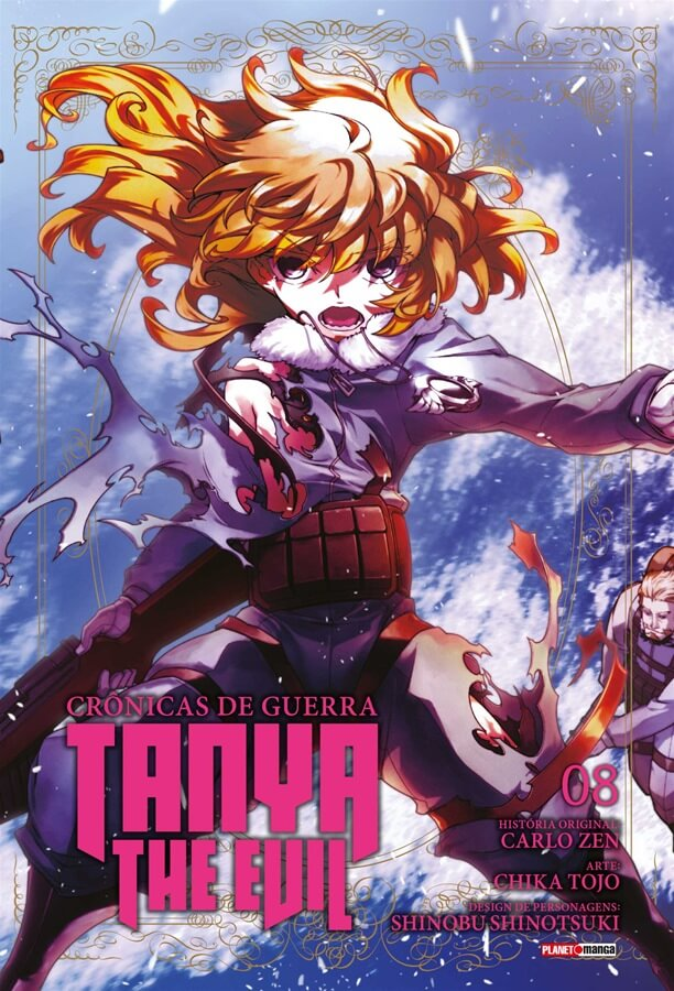 Tanya The Evil Crônicas de Guerra - Volume 08