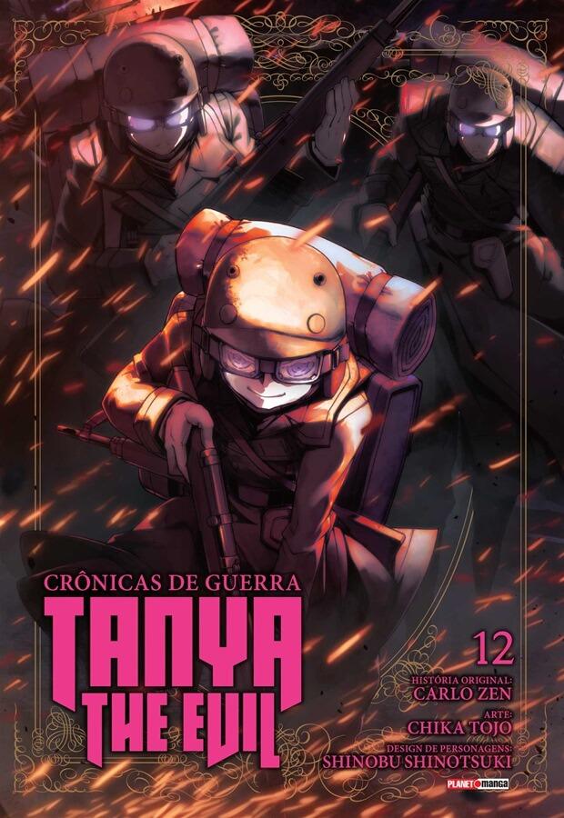 Tanya The Evil Crônicas de Guerra - Volume 12