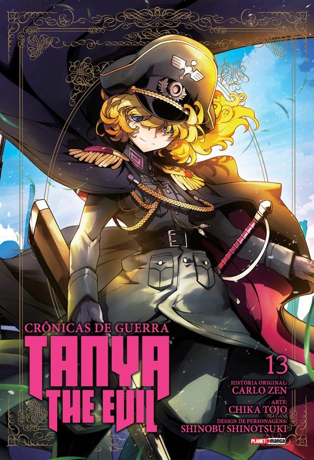 Tanya The Evil Crônicas de Guerra - Volume 13