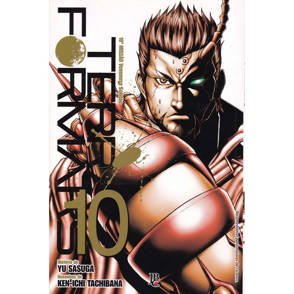 Terra Formars - Volume 10 - Usado