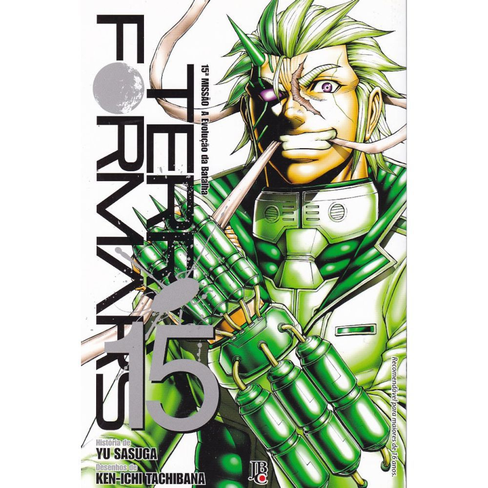 Terra Formars - Volume 15