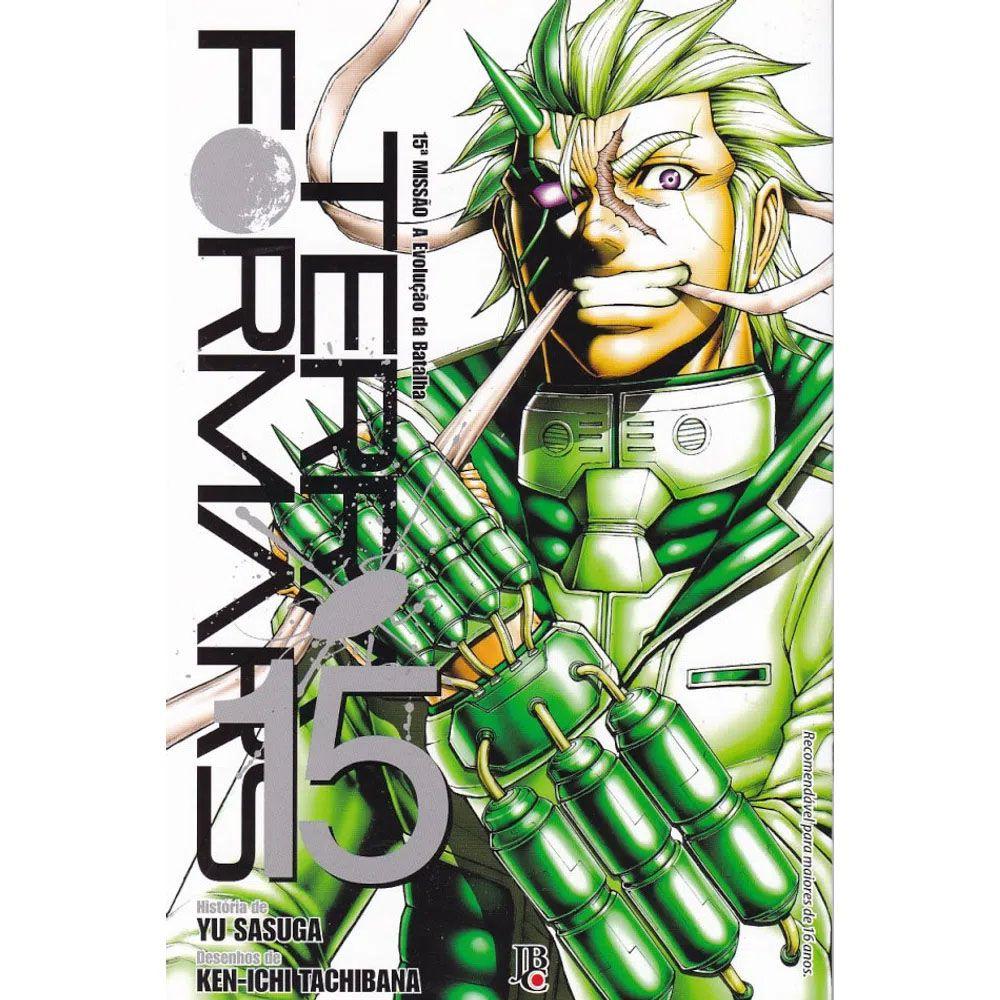 Terra Formars - Volume 15 - Usado