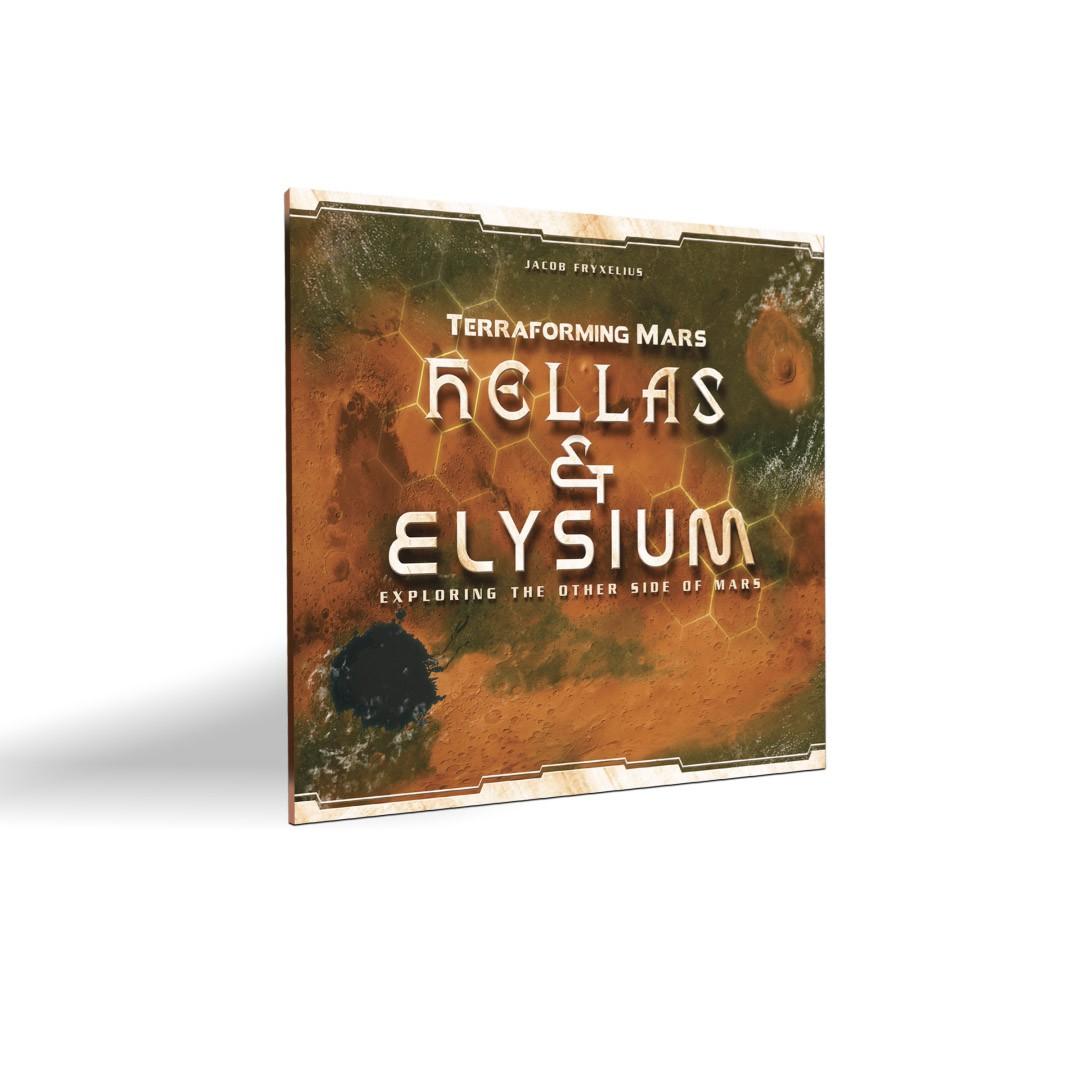 Terraforming Mars Hellas & Helysium - Expansão
