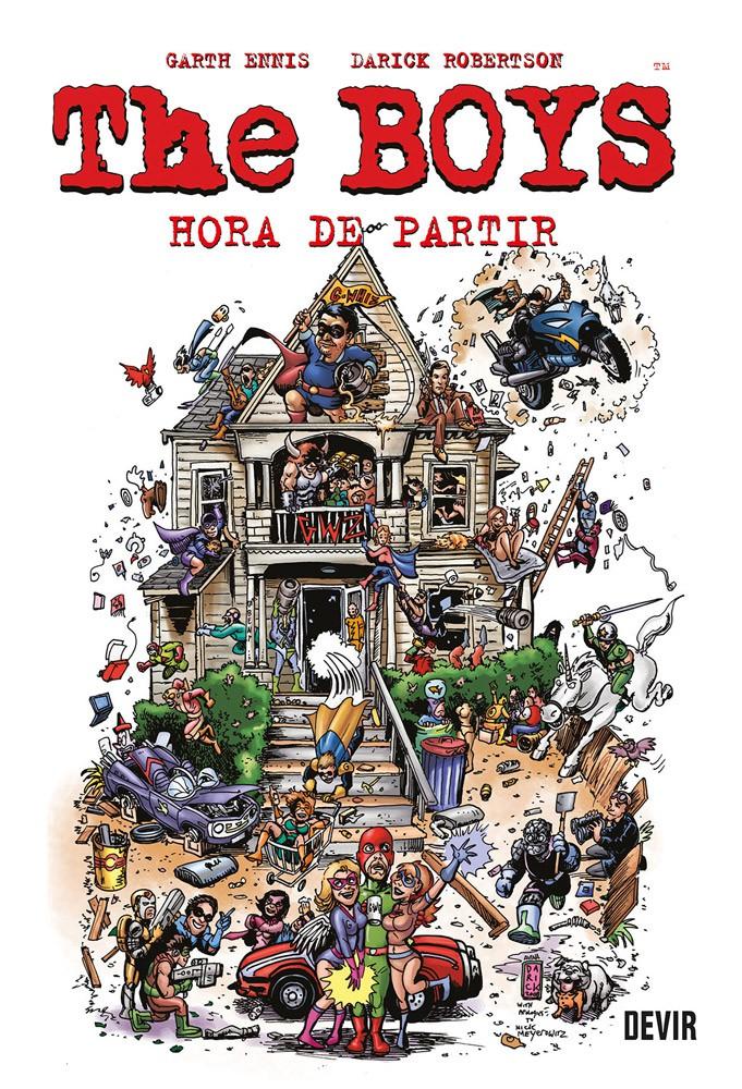 The Boys - Hora de Partir - Volume 04
