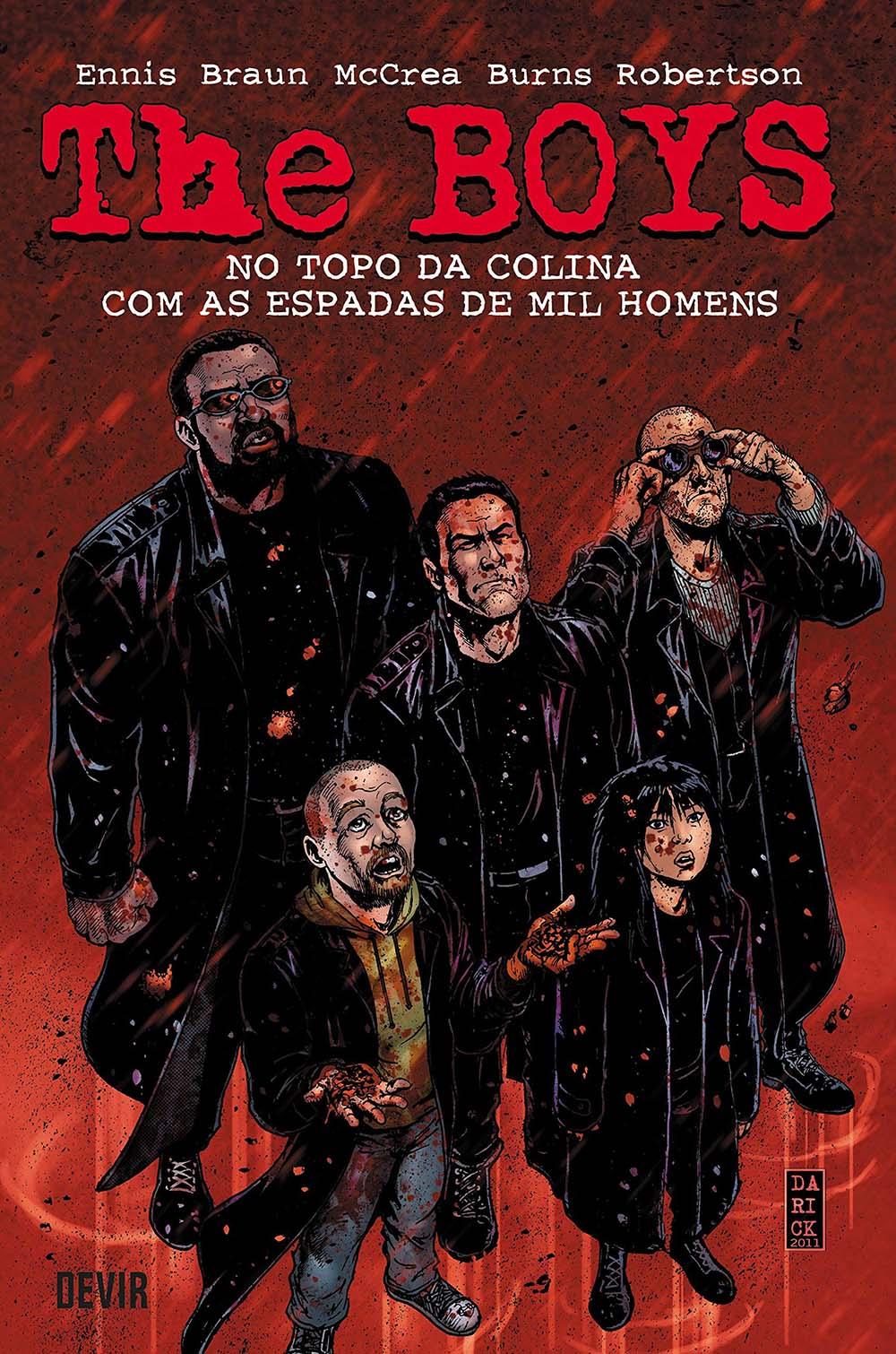 The Boys - No Topo Da Colina Com As Espadas De Mil Homens  - Volume 11