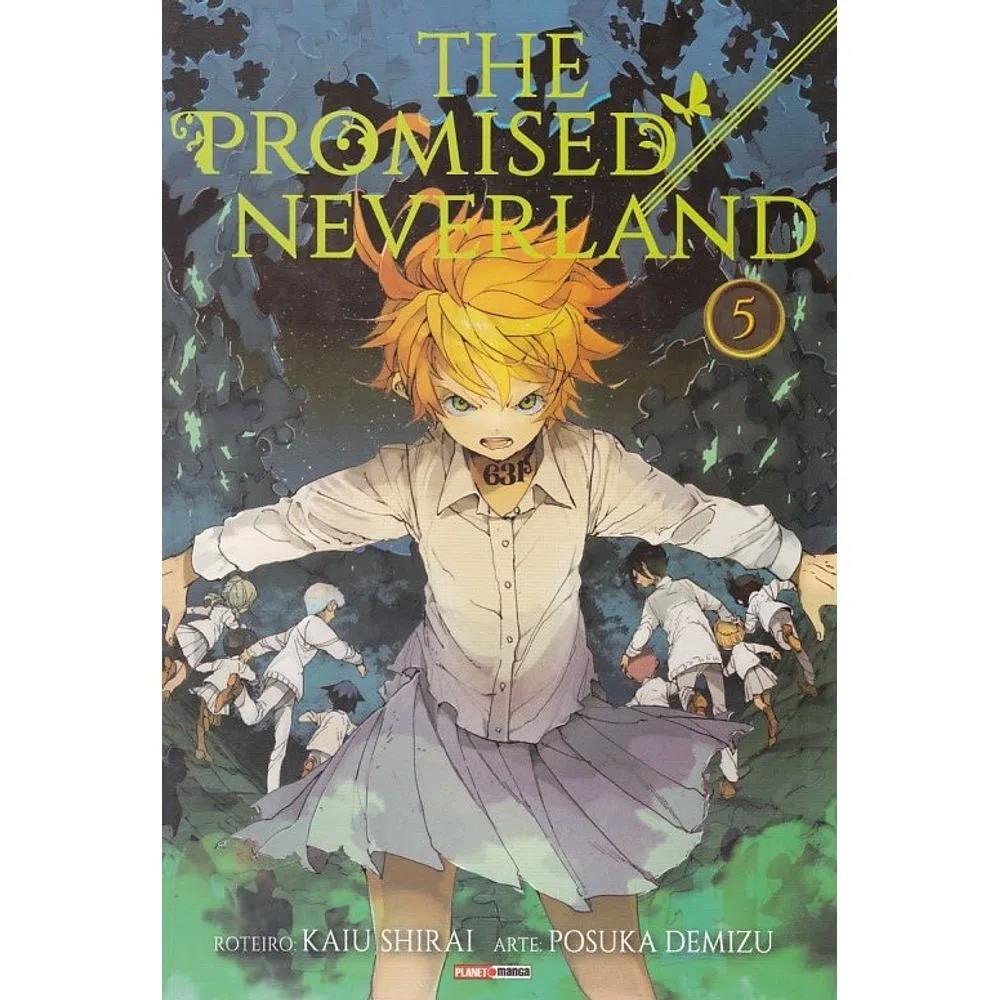 The Promised Neverland - Volume 05 - Usado