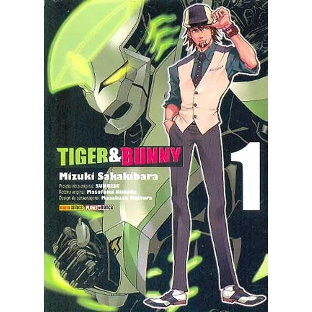 Tiger & Bunny - Volume 01 - Usado