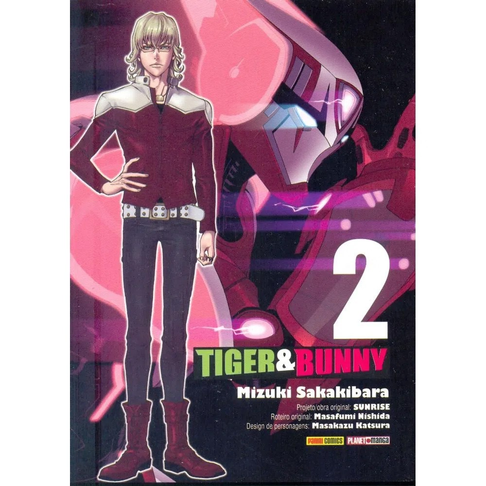 Tiger & Bunny - Volume 02 - Usado